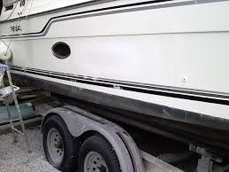 repaired boat