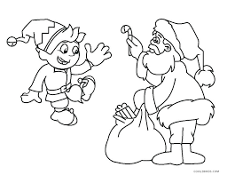 Elf Coloring Pages Printable Cute Elf Coloring Pages Printable Free