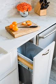 Clever Kitchen Storage Appealing Modern Kitchen Cabinet With Marble Top And White