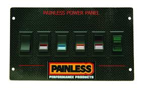 carbon fiber mustang power panel for 1987 93 rocker painless carbon fiber mustang power panel for 1987 93 rocker by painless performance