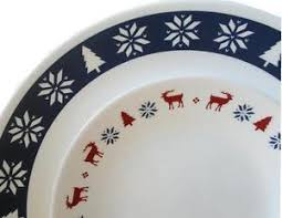 corelle dinner set ebay australia. image is loading 16pc-corelle-holiday-nordic-blu-dinnerware-set-christmas- corelle dinner set ebay australia e