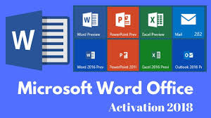Word For Office Activate Word Office All Versions 2018 For Life