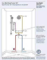 56 tub shower valve height shower plumbing sprays steam generatorore kadoka net