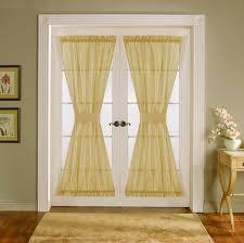 bifold door curtain ideas