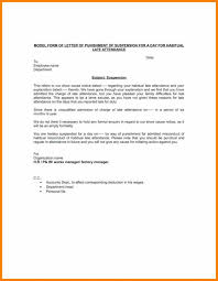 Warning Letter Mesmerizing Sample Warning Letter To Employee For Attendance Design Of Letter Of
