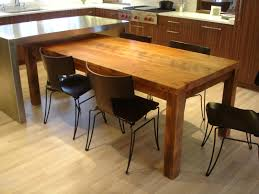 Kitchen Island Table Sets Rustic Kitchen Tables To Simple Kitchen Island Kitchen Idea
