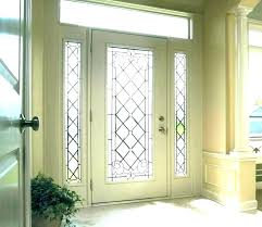 front door with glass window exterior inserts replacement windows insert kit
