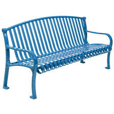 Guidelines To Clean And Care For Metal Garden Bench  Front Yard Garden Metal Bench