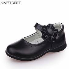 <b>Xinfstreet Girls Shoes Leather</b> Flower Nice Children Princess Shoes ...