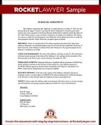 residential sublease agreement template. Georgia Residential Lease Agreement Inspirational Sublease Agreement