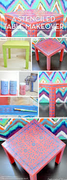cutting edge furniture. Cutting Edge Stencils Shares A DIY Stenciled Table Makeover Using The Indian Inlay Stencil Kit. Furniture O