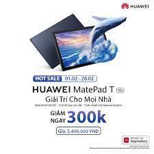 TRẢ GÓP 0% | Máy tính bảng Huawei MatePad T10s (3GB/64GB)