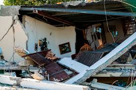 Visit cea to find out just how the damage caused by earthquakes is from ground shaking, ground rupture, landslides, tsunamis. Puerto Rico Earthquakes Cause Heavy Damage And Knock Out Power