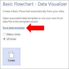 Creating Flow Charts In Excel Create A Data Visualizer Diagram Visio