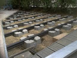 Terrasse Plots B Ton Sur Cool Faire Des Plots En Beton