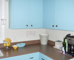 Blue Painted Kitchen Cabinets Shabby Chic Painted Kitchen Cabinets