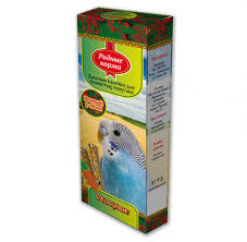 <b>РОДНЫЕ КОРМА</b> 45г х 2шт <b>зерновая палочка</b> для попугаев с ...
