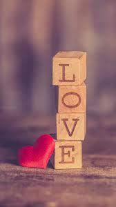 938x1668 wallpaper cubes love heart