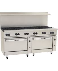 Commercial gas range 30 Inch Gas Range 2double Standard Or Convection Gas Ovens W 12 Burners Vulcan Equipment Large 72