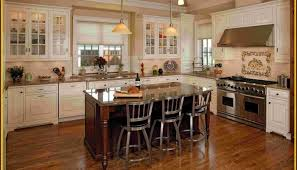 antique white cabinets dark floors. antique white kitchen cabinets with dark floors