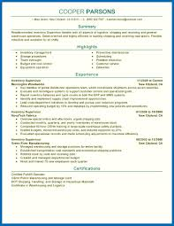 Supervisor Resume Sample Objective For Resume Warehouse Warehouse Supervisor Resume Sample 25