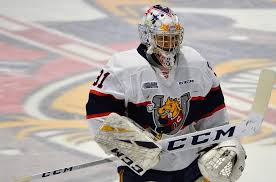 Jet Greaves In Full Flight For Barrie Colts Ohl Very