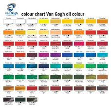Sakura Poster Color Chart Pin By Ruth Curtis On Etsy Ideas Oil Painting Lessons Oil