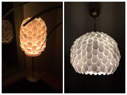 design your own lighting. Design Your Own Plastic Spoon Lamp, Home Decor, Lighting N