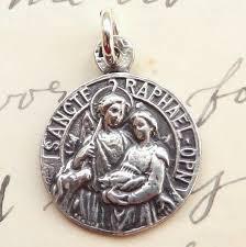 archangel st raphael medal