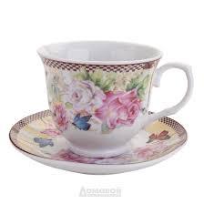 Купить <b>Набор чайный HOME CAFE</b> Розы 6 персон, 12 предметов ...