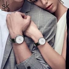 couple <b>quartz</b> watches men <b>women</b> pu leather watch — купите ...