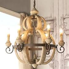 creative co op chandelier creative co op home with wood and crystal chandelier rustic wooden wrought