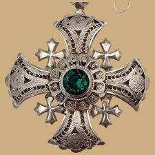 spectacular vintage 950 silver crusader