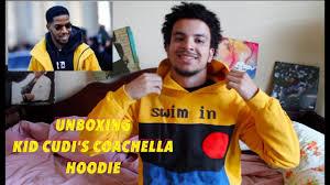 Swim In The Light Kid Cudi Unboxing Kid Cudis Coachella Hoodie