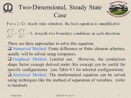 multidimensional heat transfer this equation governs 3 pradip