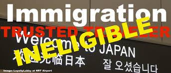 Update Japan Trusted Traveler Program Not Available For Regular