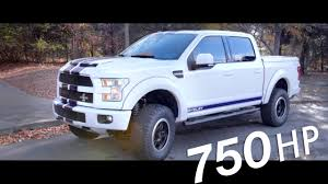 750 HP!! ALL NEW 2017 Shelby F-150 - YouTube