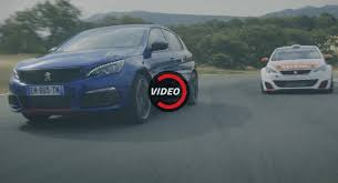 2018 peugeot 308. brilliant 2018 facelifted peugeot 308 gti meets racing cup in new spot inside 2018 peugeot