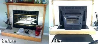 wood fireplace doors replacement an heatilator wood burning fireplace glass doors