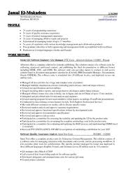 Resume Cover Letter Examples For Quality Assurance Your Prospex
