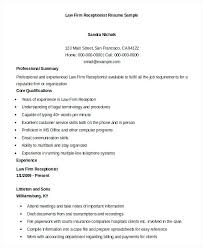 Receptionist Resume Objective Awesome 7320 A Receptionist Resume Receptionist Resume Example 24 Free Word