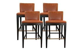 sotheby s home designer furniture bolier company leather bar chairs