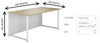 office desk size. Office Desk Measurements Size R