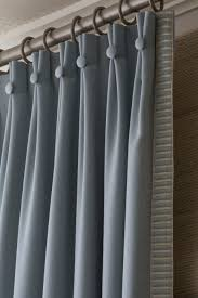 Sew curtains using drapery hooks, hung on an industrial rod | Grey ...