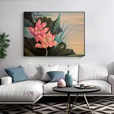 large lotus flower painting large