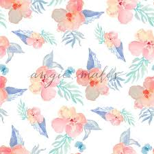 Flower Pattern Wallpaper New Tropical Watercolor Flower Wallpaper Tropical Watercolor Flower