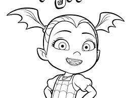 Vampirina Coloring Pages Design Templates