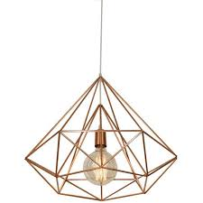 himmeli light diamond cage pendant