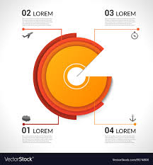 Modern Pie Chart Modern Infographics Pie Chart For Web Banners