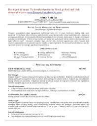 Pharmacist Resume Objective Sample Retail Manager Resume Objective Local Purchase Order Sample Format 76